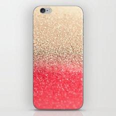GOLD CORAL iPhone & iPod Skin