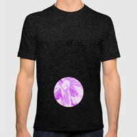 Intimate Purple Mens Fitted Tee Tri-Black SMALL
