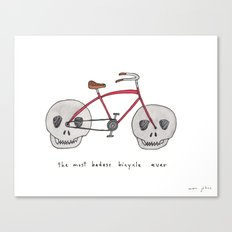 the most badass bicycle ever Canvas Print