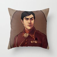 Generaliroh Throw Pillow