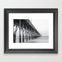 Pier IV Framed Art Print