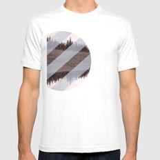 Banana Hammock  Mens Fitted Tee White SMALL