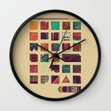 Swatches Wall Clock