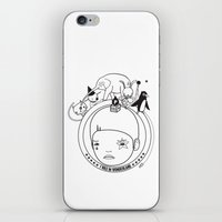 I WAS IN WONDERLAND iPhone & iPod Skin