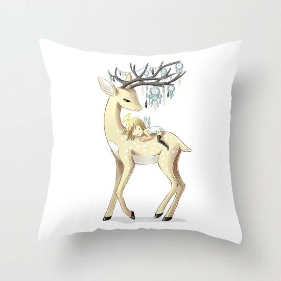 Dream Guide 2 Throw Pillow