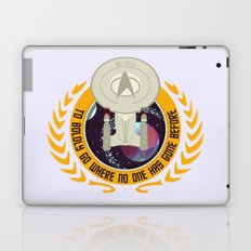The Final Frontier Laptop & iPad Skin
