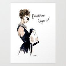 Breakfast Anyone? Art Print