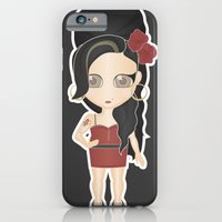 amy back to black iPhone 6 Slim Case