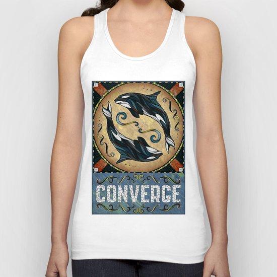 Converge Unisex Tank Top