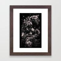 Sleep with Gods Framed Art Print