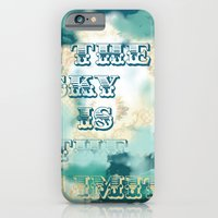 iPhone & iPod Case featuring The Sky is the Limit by Guerriero