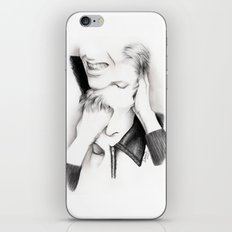 DECONSTRUCTION OF DAVID BOWIE  iPhone & iPod Skin