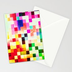 GROWN UP PIXELS Stationery Cards