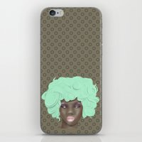 Emogirl Earth iPhone & iPod Skin