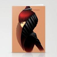 Fashion profile Stationery Cards