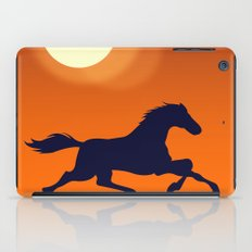 Racing Sunset iPad Case