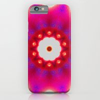 iPhone & iPod Case featuring Pink Christmas star by Pink grapes