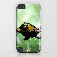 Cute Seaturtle iPod touch Slim Case