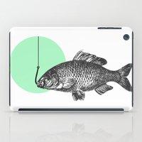 mint bubble iPad Case