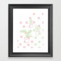 Plants, 2014. Framed Art Print