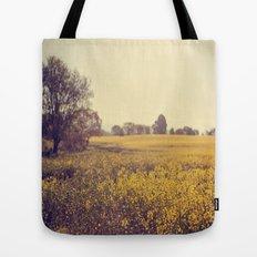 Vintage Field  Tote Bag