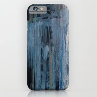 iPhone & iPod Case featuring ABSTRACT BLUE by Brandon Neher