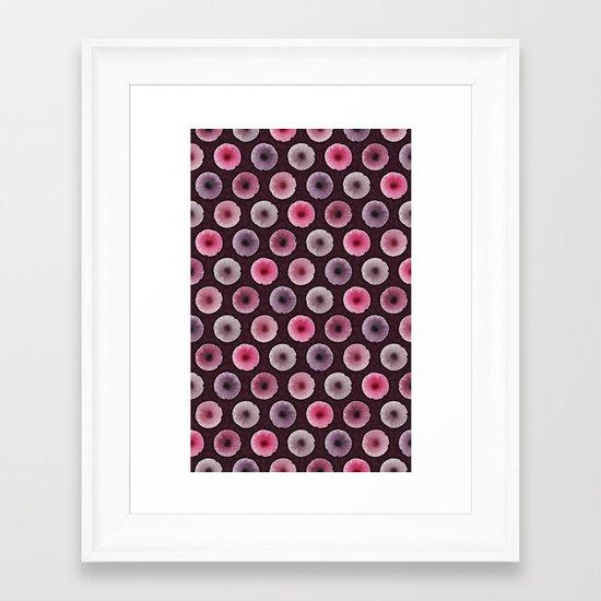 TOP MUSHROOMS Framed Art Print