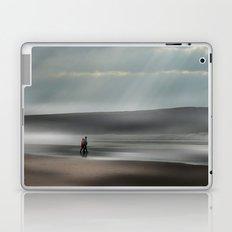 Misty walk Laptop & iPad Skin
