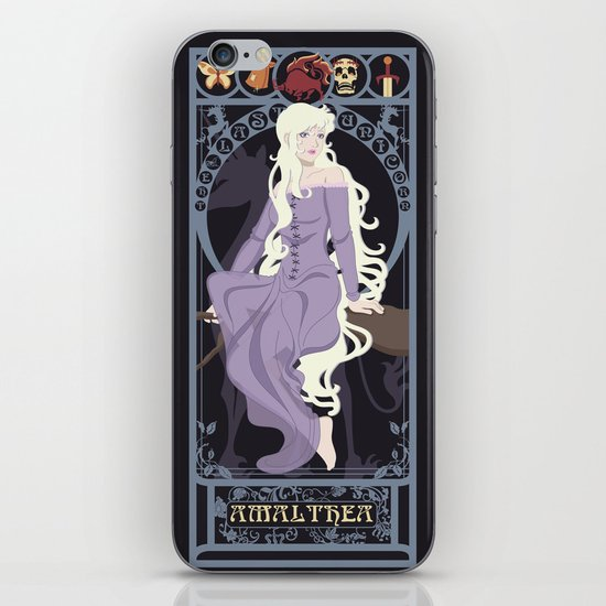 Amalthea Nouveau - The Last Unicorn iPhone & iPod Skin