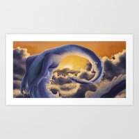 Sky Dragon Art Print