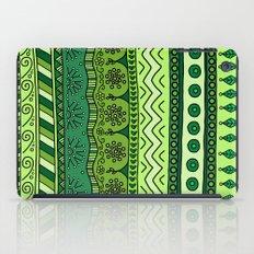 Yzor pattern 003 green iPad Case