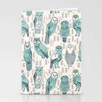 Parliament Of Owls - Pal… Stationery Cards