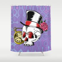 Dead Gentleman Shower Curtain