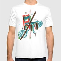 Chair Mens Fitted Tee White SMALL