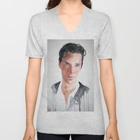 Sherlock, Benedict Cumberbatch Unisex V-Neck