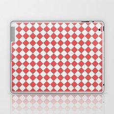 Red Diamonds Laptop & iPad Skin