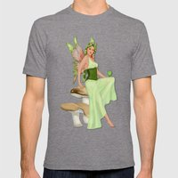 Absinthe the Green Fairy Mens Fitted Tee Tri-Grey SMALL