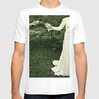 Madam Mens Fitted Tee White SMALL
