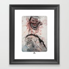 The bad Framed Art Print