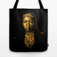Michonne Golden Tote Bag