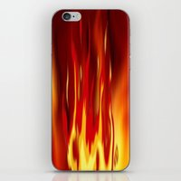 Into The Fire 2. iPhone & iPod Skin