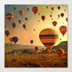 Sunrise in Cappadocia Canvas Print