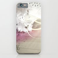 iPhone & iPod Case featuring out in the rain by jastudio