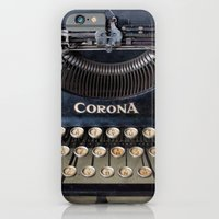 iPhone & iPod Case featuring Corona Typewriter by Typography Photography™