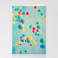 Polka Dots (Colorful Hap… Stationery Cards