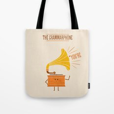 Grammarphone Tote Bag