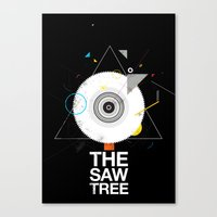 The Saw Tree Canvas Print
