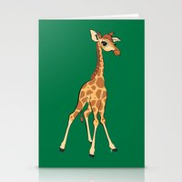 You're Having A Giraffe! Stationery Cards