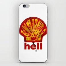 Hell Oil iPhone & iPod Skin