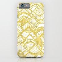 Golden Doodle mountains iPhone 6 Slim Case